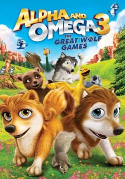 Альфа и Омега 3 / Alpha and Omega 3: The Great Wolf Games (2014) HDRip / BDRip 720p