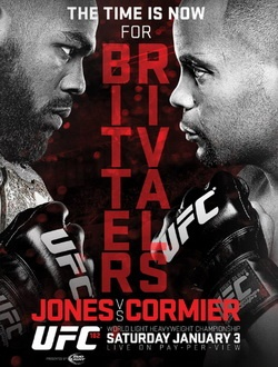 MMA. UFC 182: Джон Джонс - Дэниэл Кормье / UFC 182: Jones vs. Cormier (2015) SATRip