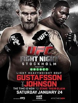 UFC on FOX 14: Густафссон - Джонсон / UFC on FOX 14: Gustafsson vs. Johnson (2015) SATRip