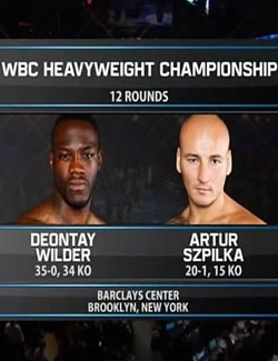 Бокс: Деонтей Уайлдер - Артур Шпилька / Boxing: Wilder vs. Szpilka (2016) SATRip