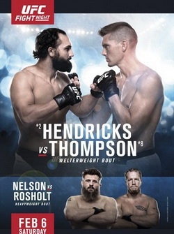 UFC Fight Night 82: Стивен Томпсон - Джони Хендрикс / UFC Fight Night 82: Hendricks vs. Thompson (2016) SATRip