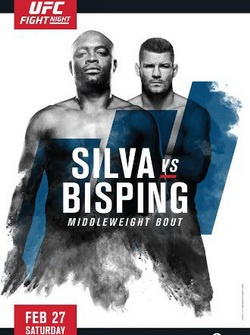 UFC Fight Night 84: Андерсон Силва - Майкл Биспинг / UFC Fight Night 84: Silva vs. Bisping (2016) SATRip