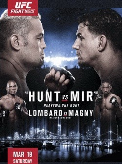 UFC Fight Night 85: Марк Хант - Фрэнк Мир / UFC Fight Night 85: Hunt vs. Mir (2016) SATRip