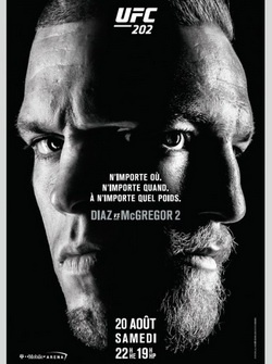 MMA. UFC 202: Конор Макгрегор - Нейт Диас 2 / UFC 202: Diaz vs. McGregor 2 (2016) SATRip