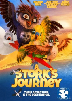 Трио в перьях / A Stork's Journey (2017) WEB-DLRip / WEB-DL