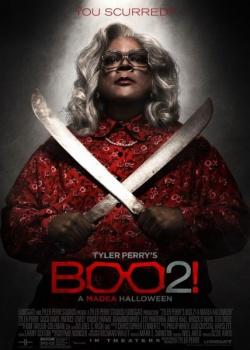 Хэллоуин Мэдеи 2 / Tyler Perry's Boo 2! A Madea Halloween (2017) WEB-DLRip / WEB-DL (720p)