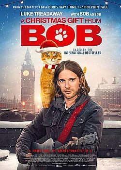 Рождество кота Боба / A Christmas Gift from Bob (2020) WEB-DLRip / WEB-DL (720p, 1080p)